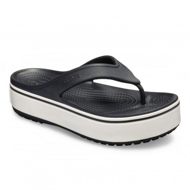 Sandalo infradito da donna CROCS modello  CROCBAND™ PLATFORM FLIP W art. 205681 in vendita su Naturalshoes.it