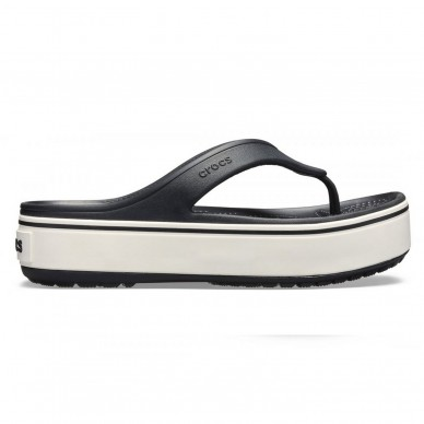 CROCS woman thong sandal CROCBAND ™ model PLATFORM FLIP W art. 205681 shopping online Naturalshoes.it