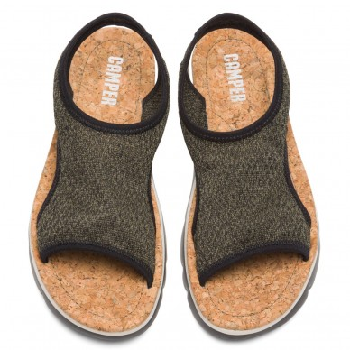 CAMPER Sportsandale für Damen Modell ORUGA Art.-Nr. K200360 in Stoff mit ultraleichter Sohle. in vendita su Naturalshoes.it