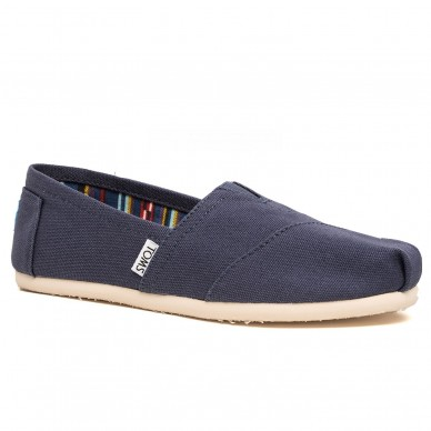 TOMS Espadrille für Damen CANVAS CLASSIC Modell ALPARGATA Art.-Nr. 10000873  in vendita su Naturalshoes.it