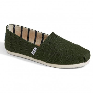 TOMS women's espadrille CLASSICS model art. 10011668 shopping online Naturalshoes.it