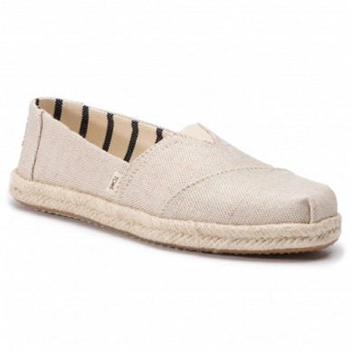 TOMS woman shoe model ALPARGATA art. 10013508 shopping online Naturalshoes.it