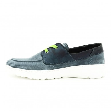 ONFOOT Men's lace-up sneaker STONE WASH model art. O100000 shopping online Naturalshoes.it