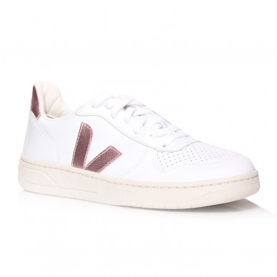 VEJA women's leather sneakers - VXW021907 shopping online Naturalshoes.it