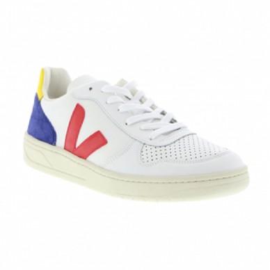 VEJA men's sneaker in leather - VXM021960 shopping online Naturalshoes.it
