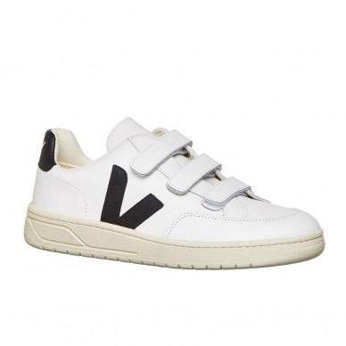 XC020005 - VEJA V-Lock White Black in vendita su Naturalshoes.it