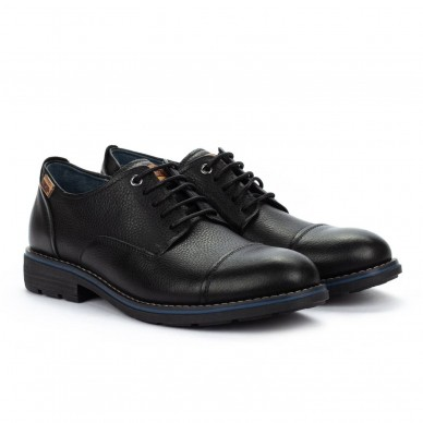 PIKOLINOS Men's shoe with laces model YORK M2M-4321NG shopping online Naturalshoes.it