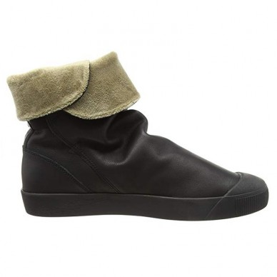 SOFTINOS women's ankle boot with internal fur model KAZ shopping online Naturalshoes.it