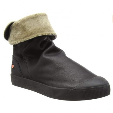 SOFTINOS Damenstiefelette mit Innenfell modell KAZ in vendita su Naturalshoes.it