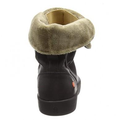 KAZ - Stivaletto da donna SOFTINOS con pellicciotto interno in vendita su Naturalshoes.it