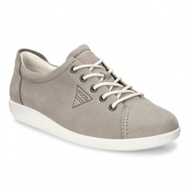 ECCO Schnürschuh für Damen Modell SOFT 2.0 art. 20650302375 in vendita su Naturalshoes.it