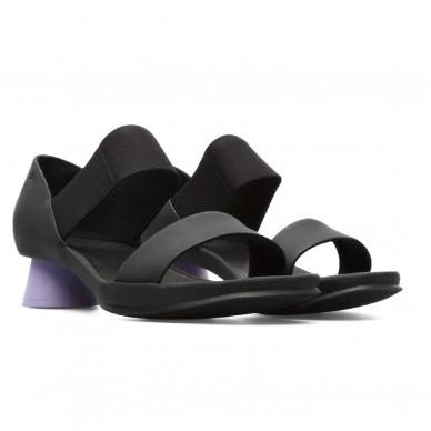 CAMPER Schuh mit niedrigem Absatz und Gummiband für Damen Model ALRIGHT Art. K200770 in vendita su Naturalshoes.it