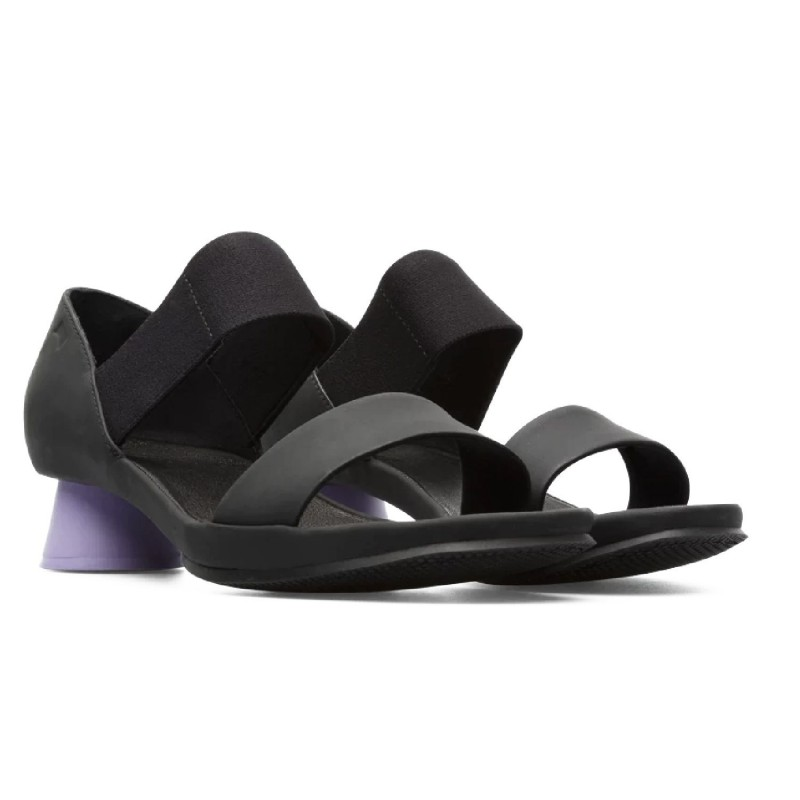 CAMPER sandal with low heel and elastic band for women Model ALRIGHT art. K200770 shopping online Naturalshoes.it