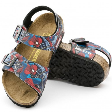 NEW YORK CARTOON - Sandalo da bambino a due fasce  in vendita su Naturalshoes.it