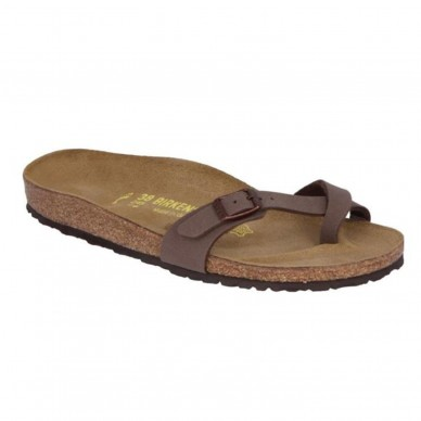 PIAZZA - Woman's thong sandal with anatomic BIRKENSTOCK footbed shopping online Naturalshoes.it