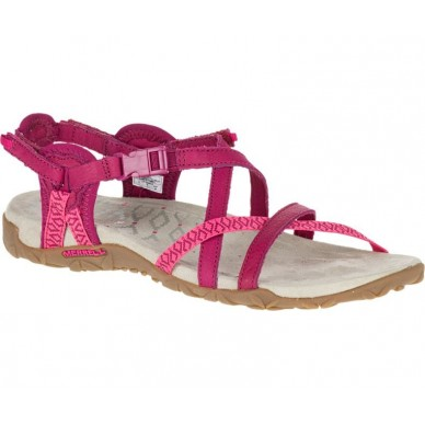 J55310 - MERRELL Woman sandal model TERRAN LATTICE II shopping online Naturalshoes.it