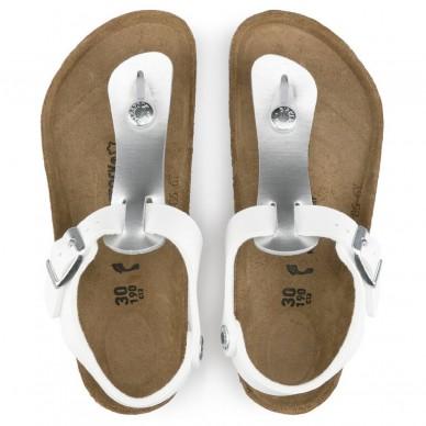 Sandalo infradito da bambino BIRKENSTOCK - KAIRO Birko Flor in vendita su Naturalshoes.it