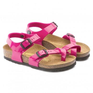 Sandalo da bambina BIRKENSTOCK con infradito e cinturini regolanbili - TAORMINA - BIRKO-FLOR in vendita su Naturalshoes.it