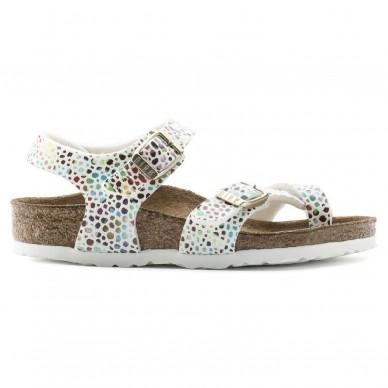 TAORMINA (MICROFASER) - Sandalo da bambina BIRKENSTOCK con infradito e cinturini regolanbili  in vendita su Naturalshoes.it