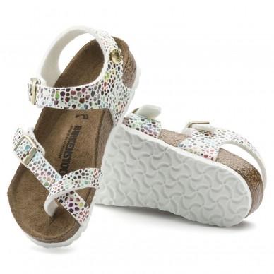 TAORMINA (MICROFASER KIDS) - Sandalo da bambina BIRKENSTOCK con infradito e cinturini regolabili  in vendita su Naturalshoes.it