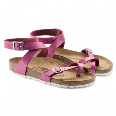 YARA (BIRKO-FLOR) - Sandalo da donna infradito con fascia incrociata alla caviglia BIRKENSTOCK in vendita su Naturalshoes.it