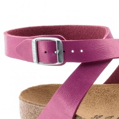 BIRKENSTOCK women's sandal with flip flops and adjustable straps - YARA - BIRKO-FLOR shopping online Naturalshoes.it