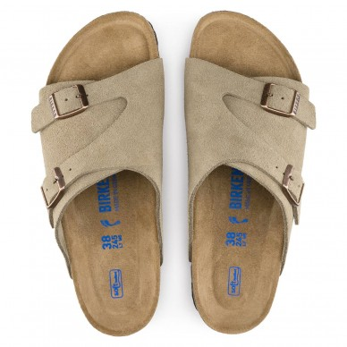 BIRKENSTOCK  woman's sandal with buckles - ZURICH shopping online Naturalshoes.it