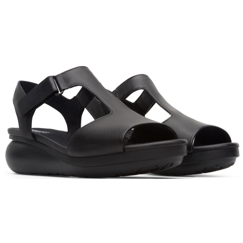 CAMPER Women's bandeau sandal with adjustable velcro side straps and a vertical front band model BALLOON art. K200612 shopping online Naturalshoes.it