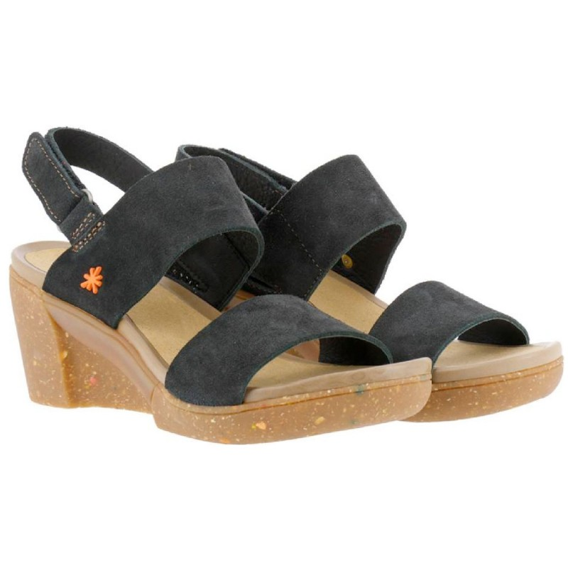 ART Sandal with wedge for woman model ROTTERDAM art. 1671 shopping online Naturalshoes.it