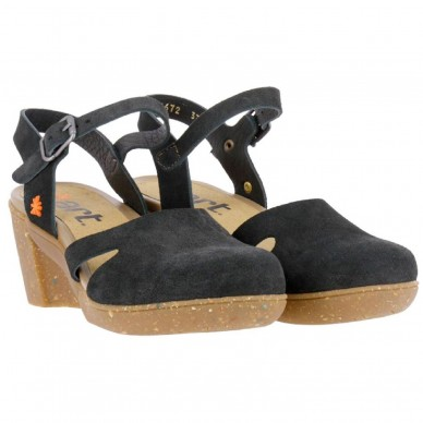 ART Sandal with wedge for woman model ROTTERDAM art. 1672 shopping online Naturalshoes.it