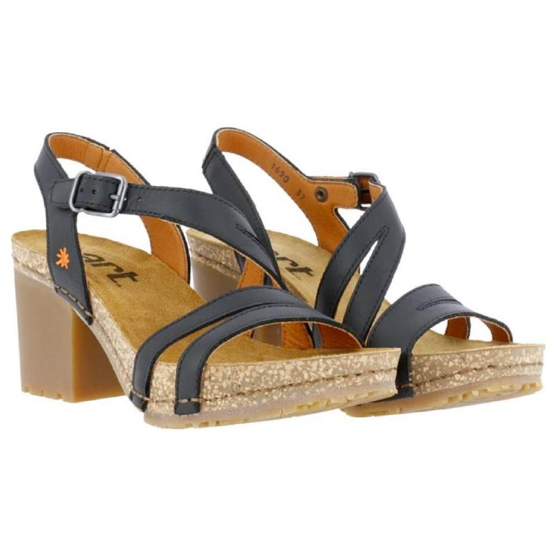 ART Sandal with wedge for woman model SOHO art. 1690 shopping online Naturalshoes.it