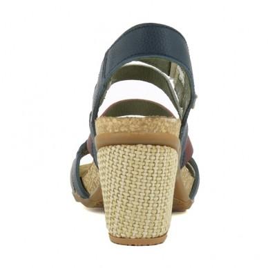 EL NATURALISTA  Sandale, streifen schmal von frau modell MOLA art. N5030 in vendita su Naturalshoes.it