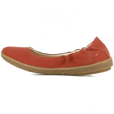 EL NATURALISTA woman ballerina model CORAL art. N5300T - VEGAN shopping online Naturalshoes.it