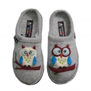 HAFLINGER women's slipper in boiled wool - OLIVIA shopping online Naturalshoes.it