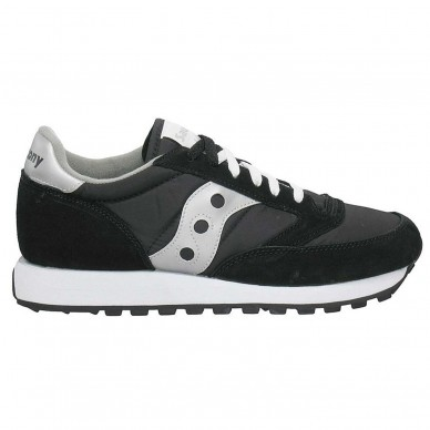 Sneaker da uomo SAUCONY mod. ORIGINALS JAZZ O art. S20441F18 col. BLACK/SILVER in vendita su Naturalshoes.it