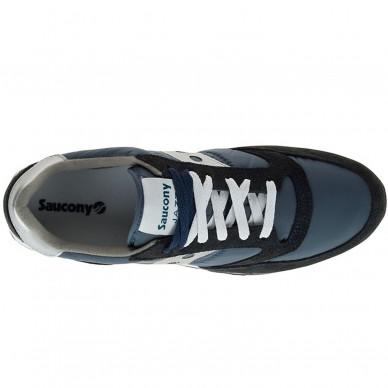 Sneaker da uomo SAUCONY mod. ORIGINALS JAZZ O arti S20441F18 col.  NAVY SILVER c53528635d