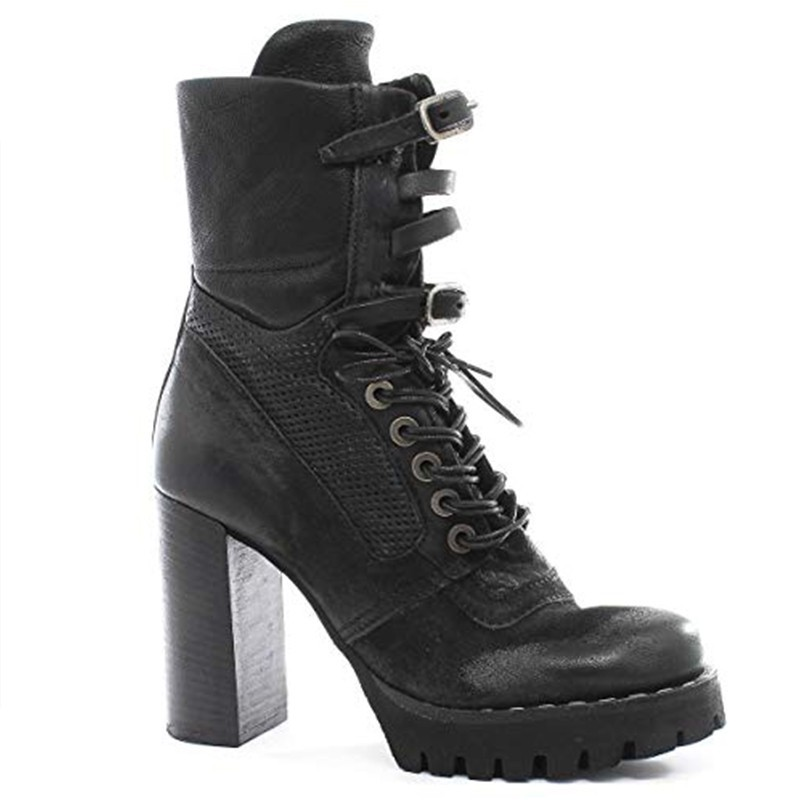 Women's ankle boot A.S.98 with heel - 194202 shopping online Naturalshoes.it