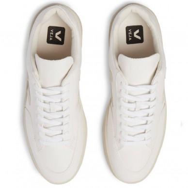 VEJA Damen- und Herrensneaker aus Leder Linie V-12 EASY art. XD051270 in vendita su Naturalshoes.it
