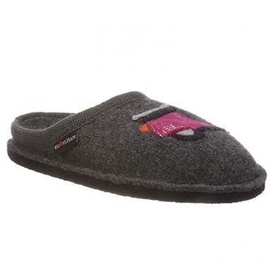 ROLLER - Pantofola da donna e da uomo HAFLINGER in lana cotta  in vendita su Naturalshoes.it