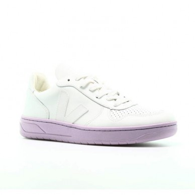 VEJA women's sneakers in leather - VXW021657 shopping online Naturalshoes.it