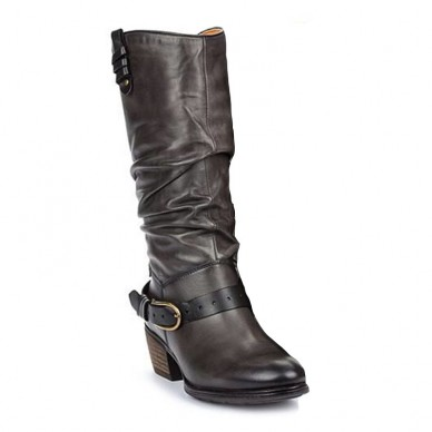 PIKOLINOS women's boots medium heel - Baqueira W9M-9625 shopping online Naturalshoes.it