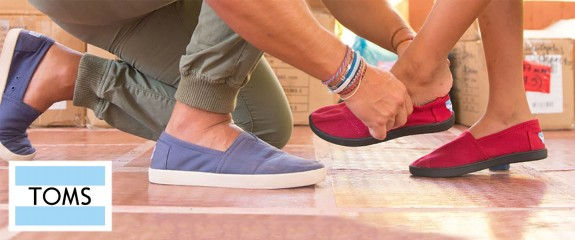 TOMS, shoes with a special story